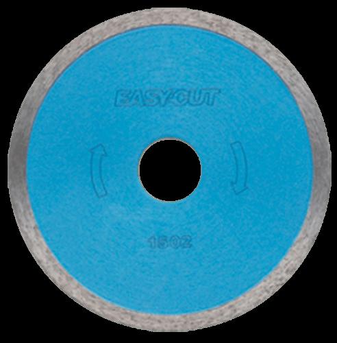 """Disco de diamante azul rin continuo de 4 1/2"""" Easy Cut para esmeriladora angular"""
