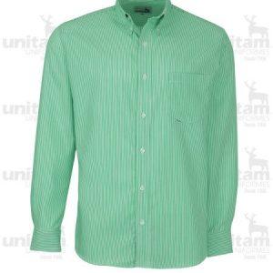 Camisa de gabardina para caballero