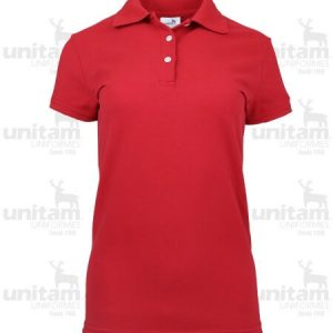 Playera tipo polo dama