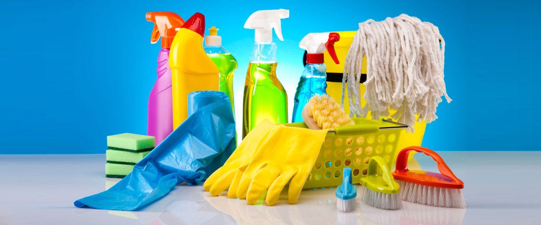 Principales tipos de productos de limpieza