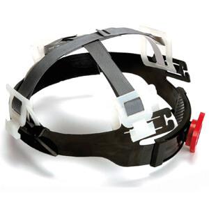 Suspensión de puntos para casco de seguridad