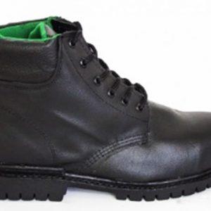 calzado de seguridad con casco de acero