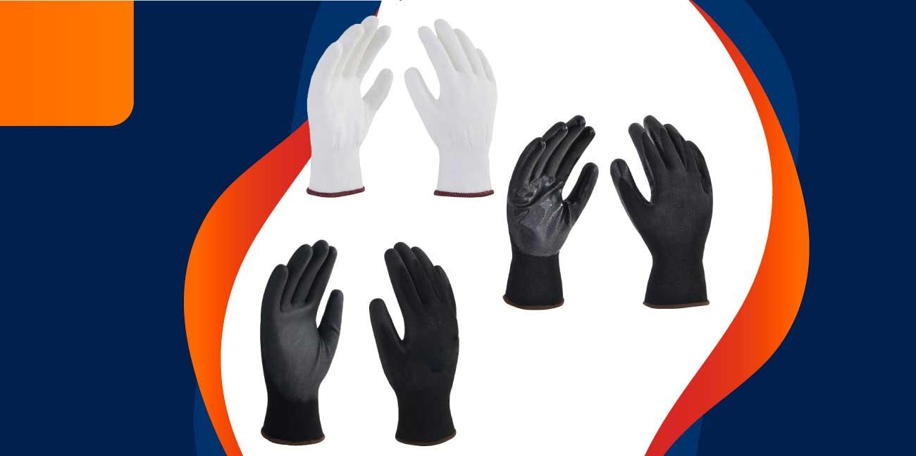 ¿Qué actividades laborales requieren el uso de guantes desechables?